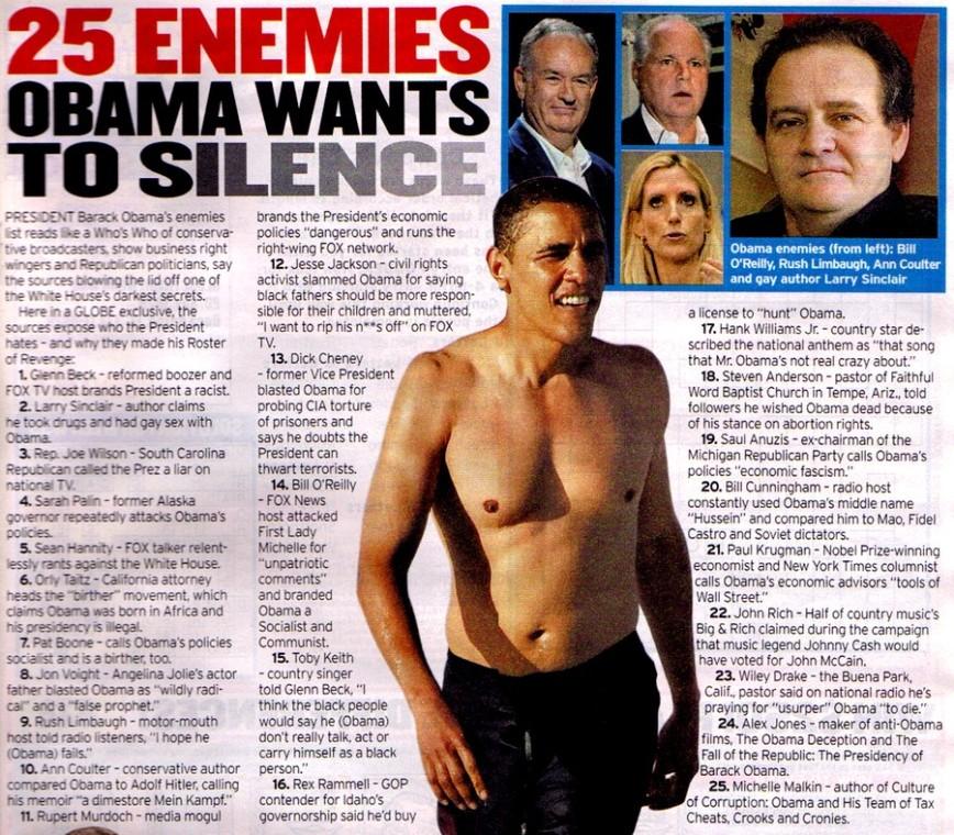 Obama Enemies