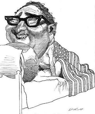 Kissinger fucking the world