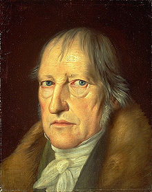 GEORG WILHELM HEGEL  By Schlesinger 1831