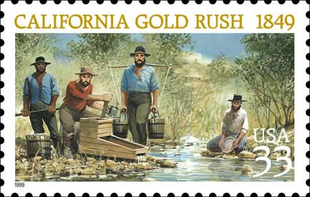 Stamp-calfornia-gold-rush