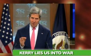 KERRY LIES SYRIA