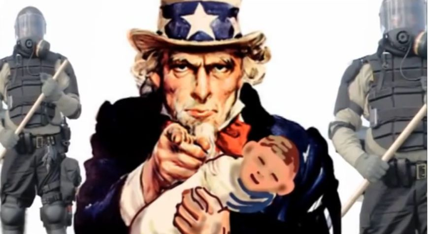 UNCLE SAM BABY KIDNAPPING