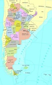 MAP ARGENTINA