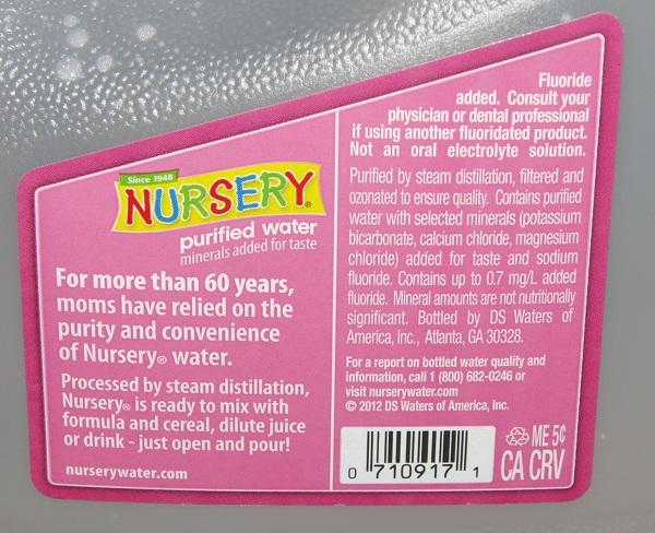 Nursery-water-sodium-fluoride