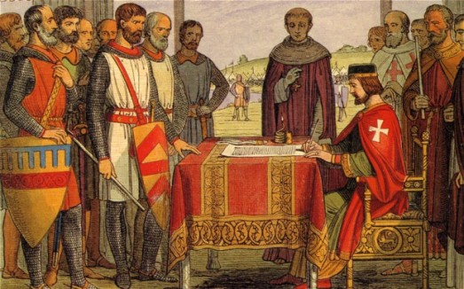 King- John Signing The Magna Carta