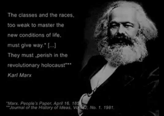 MARX EUGENICS QUOTE